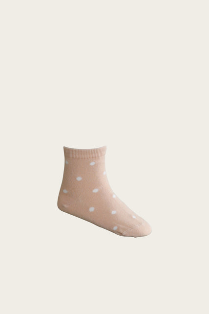 Dotty Sock - Amber