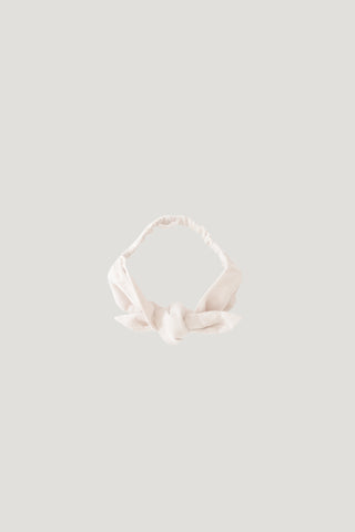 Aela Velvet Hair Tie - Cloud