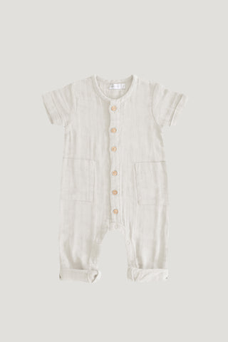 Bearsuit - Light Grey Marle