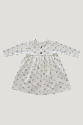 Organic Cotton Muslin Riley Romper - Clay