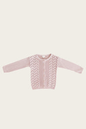Ellery Cardigan - Old Rose