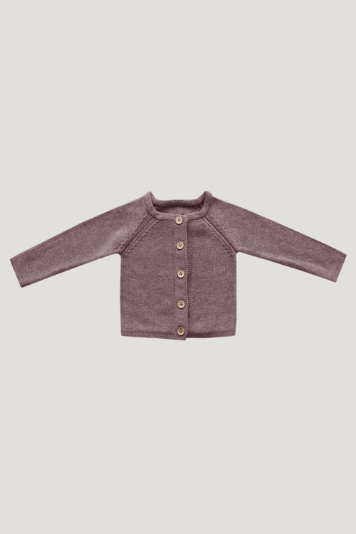 Simple Cardigan - Mauve