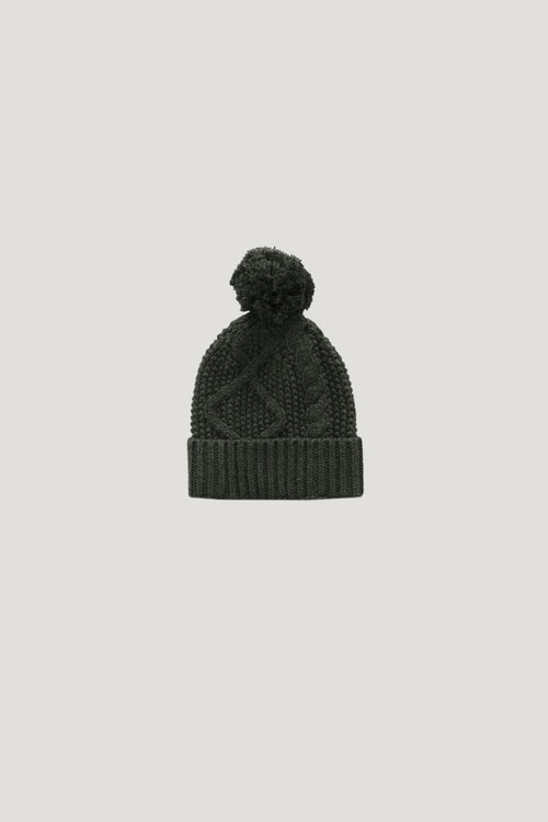 Cable Knit Hat - Juniper