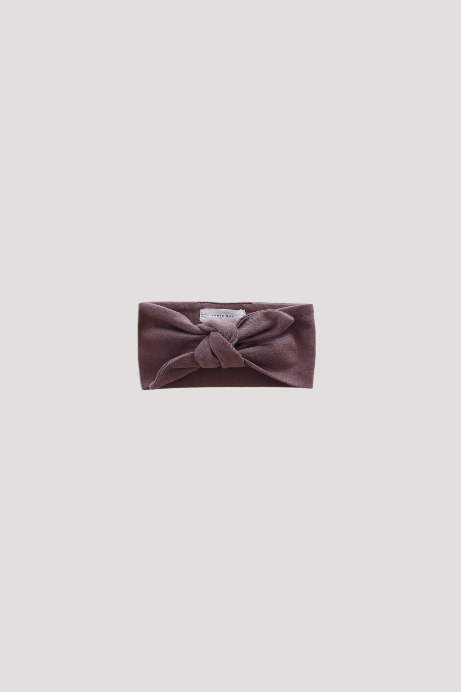 Organic Cotton Interlock Headband - Dusk