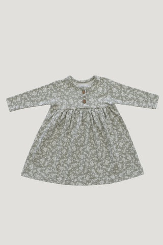Organic Cotton Ada Dress - Bloom Lulu Floral
