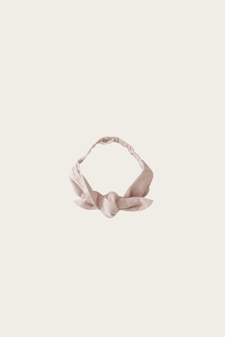 Organic Cotton Muslin Headband - Berry Sorbet