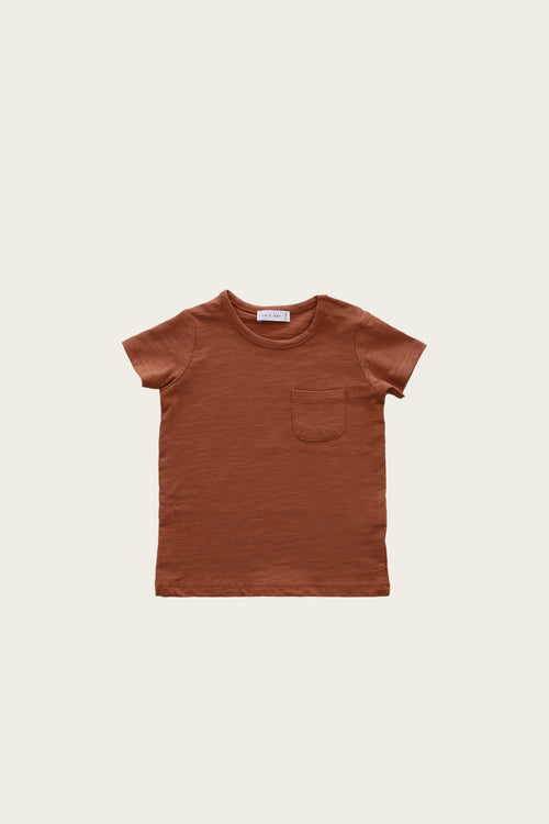 Slub Cotton Sam Tee - Glow