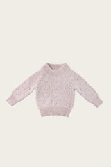 Dotty Knit - Lavender Fleck