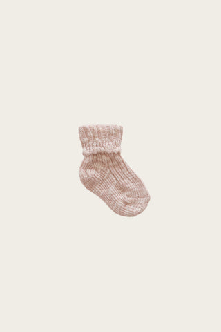 Organic Cotton Muslin Headband - Rose Dust