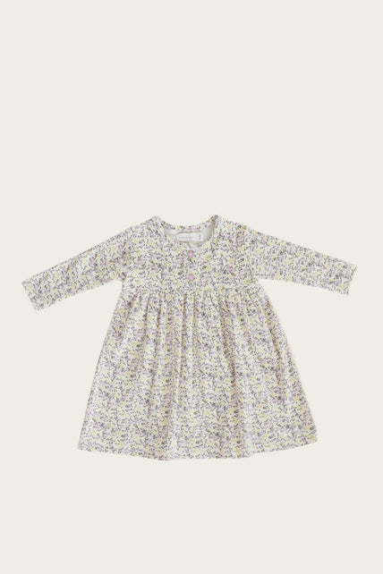 Organic Cotton Dress - Summer Floral