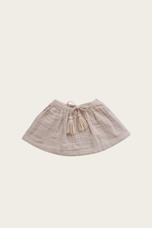 Organic Cotton Muslin Hazel Skirt - Rose Dust