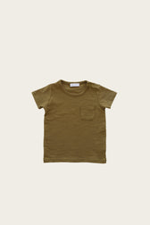 Slub Cotton Sam Tee - Ivy
