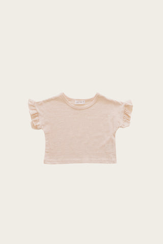 Slub Cotton Eden Top - Tiny Stars