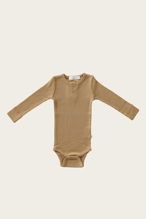 Organic Essential Bodysuit - Shortbread