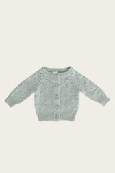 Dotty Cardigan - Seabreeze