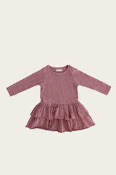 Organic Cotton Echo Dress - Berry Fizz