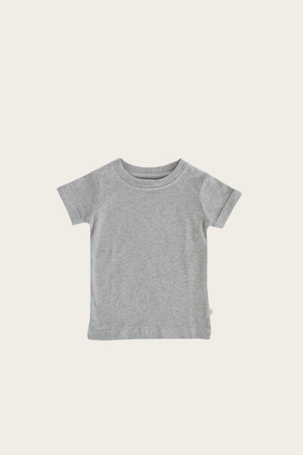 Organic Cotton Sam Tee - Glacier