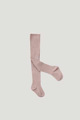 Rib Tights - Rosy