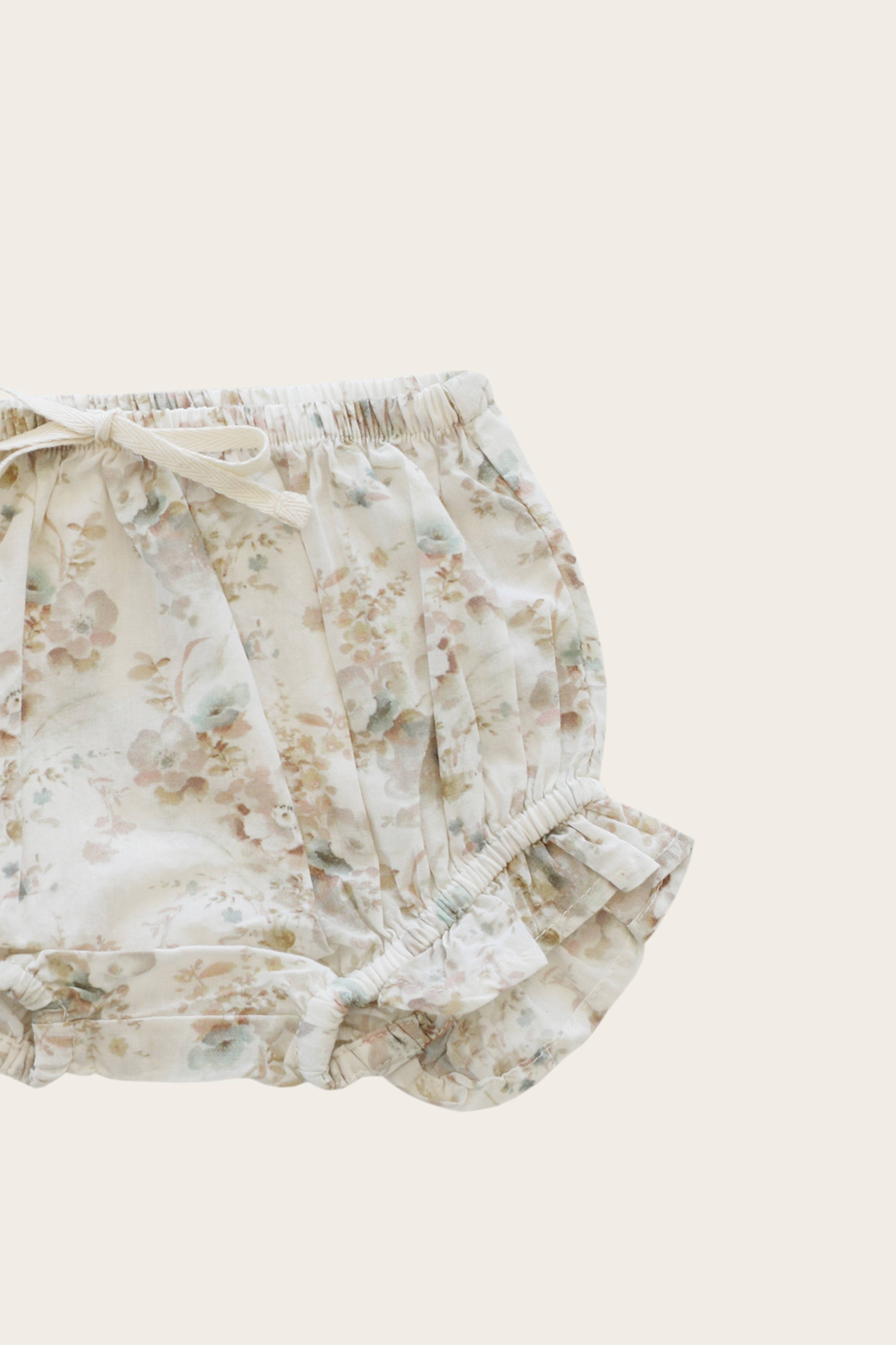 Organic Cotton Frill Bloomer - Esme Floral