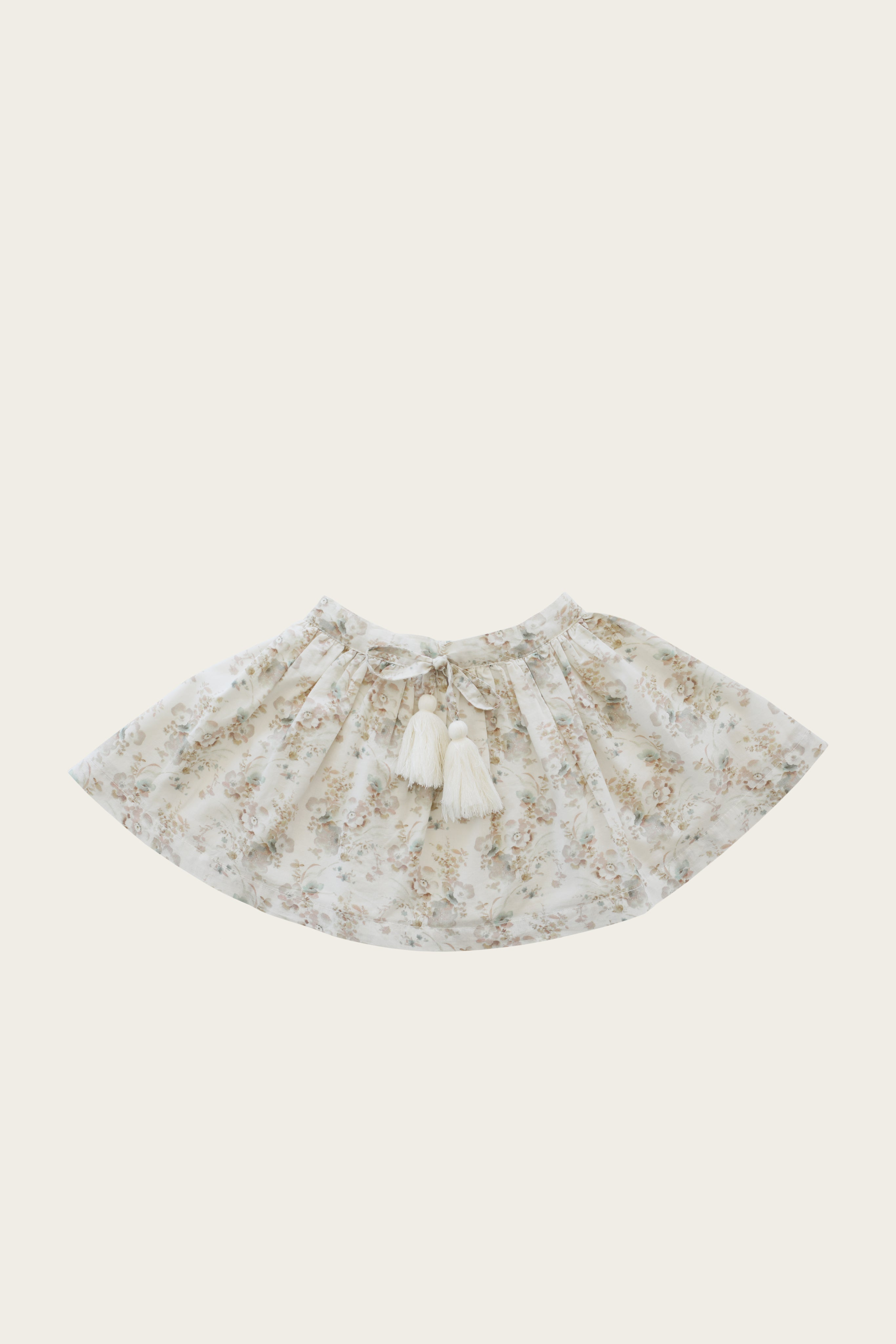 Organic Cotton Hazel Skirt - Esme Floral
