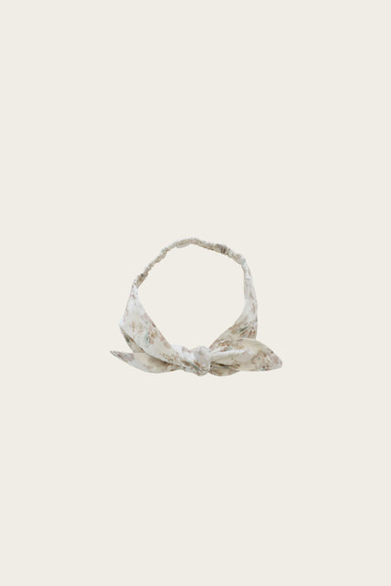 Organic Cotton Headband - Esme Floral