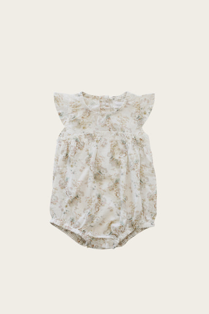 Organic Cotton Clara Playsuit - Esme Floral