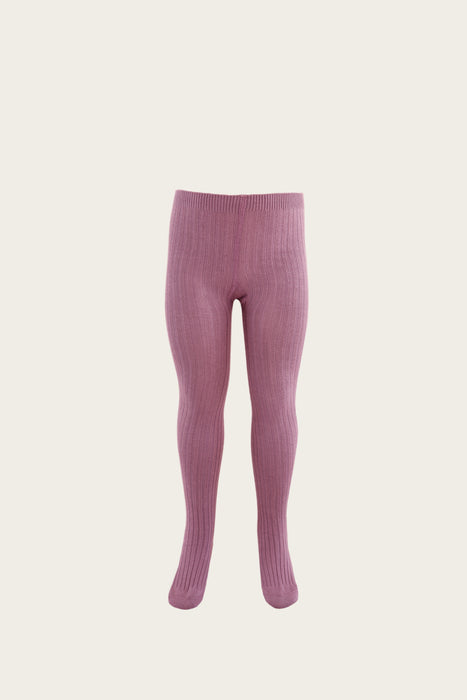 Ribbed Tight - Plum