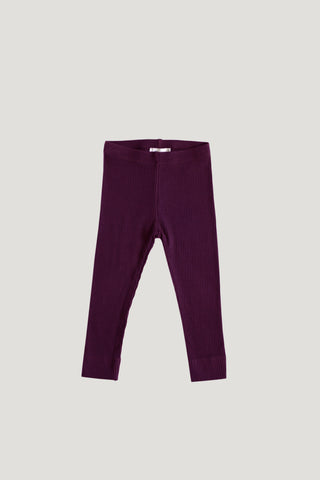 Organic Cotton Interlock Alex Pant - Bronze
