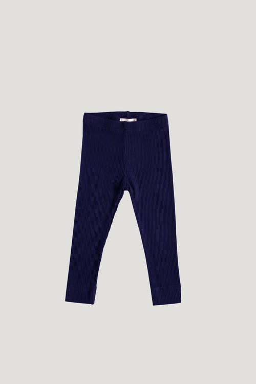 Cotton Modal Legging - Navy