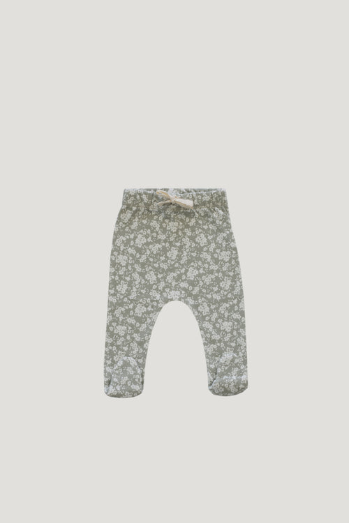 Organic Cotton Footed Pant - Sadie Floral