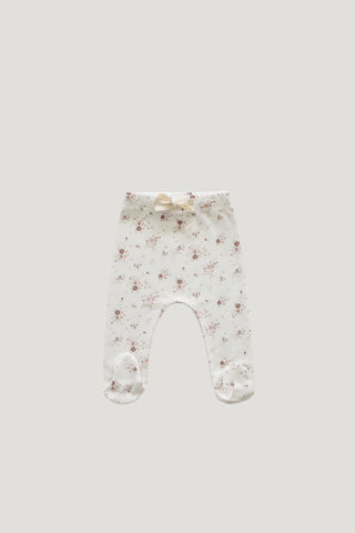 Organic Cotton Legging - Fawn Floral