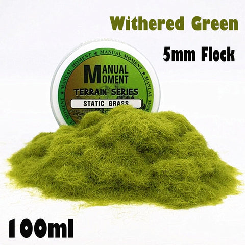 5mm Withered Green Static Grass