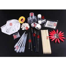 13 in 1 Painting Tools Set For Scale Modeling - Model Building Tool Sets