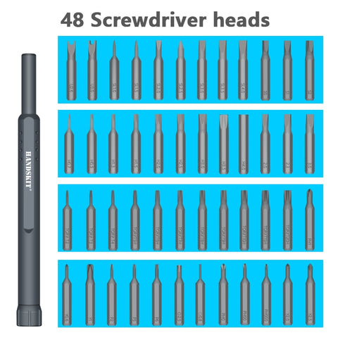 48 in 1 Precision Magnetic Screwdriver