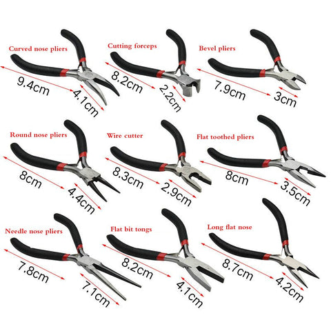 Multiple Shapes Bending / Cutting Insulated Pliers
