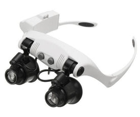 Double Eye  super magnifying glasses and LED lamp