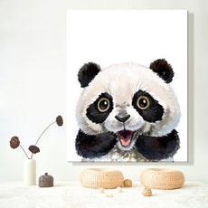 Cute Happy Panda