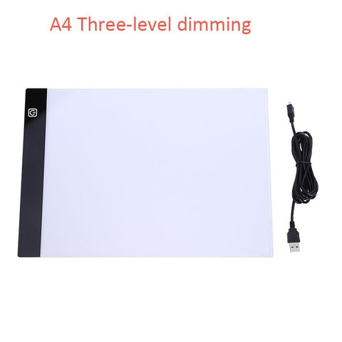 A3, A4, A5 Three-level Dimming LED Drawing Board