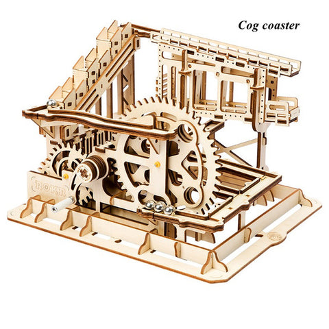 Wooden Cog Coaster