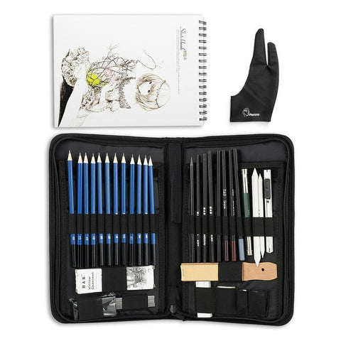 32/40 Pieces Drawing Tools Set