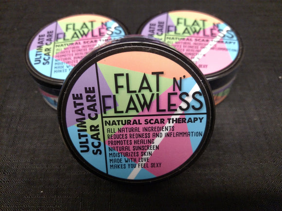 Flat N' Flawless - Scar Care Cream