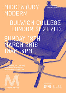 Mid-Century Modern 18th March, 2018 Dulwich College