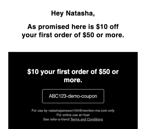 beab5afd Already referred your friend? Here's how they claim their discount