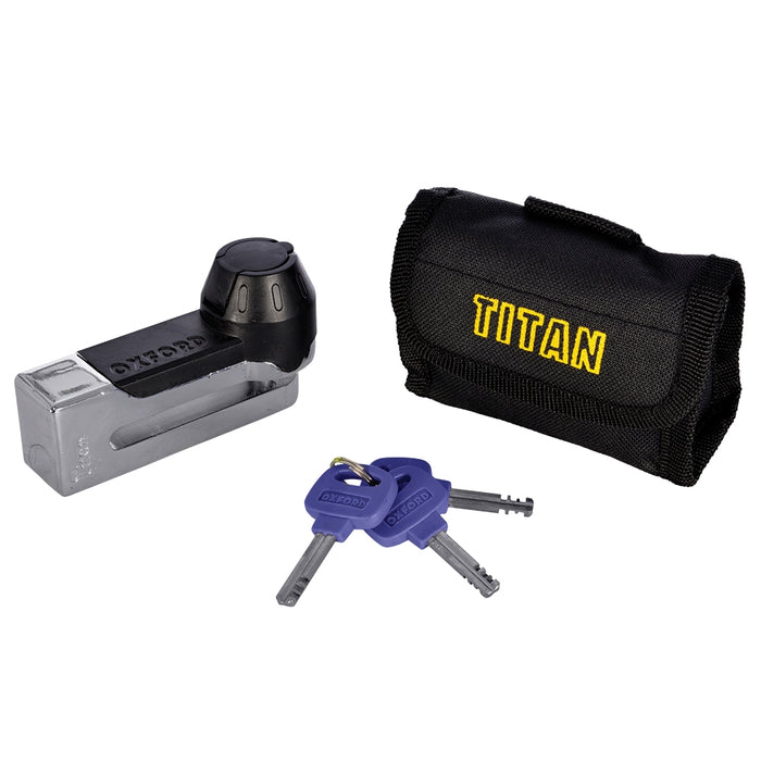 Oxford Titan  Disc-Lock & Pouch *various colours OF50 / OF51