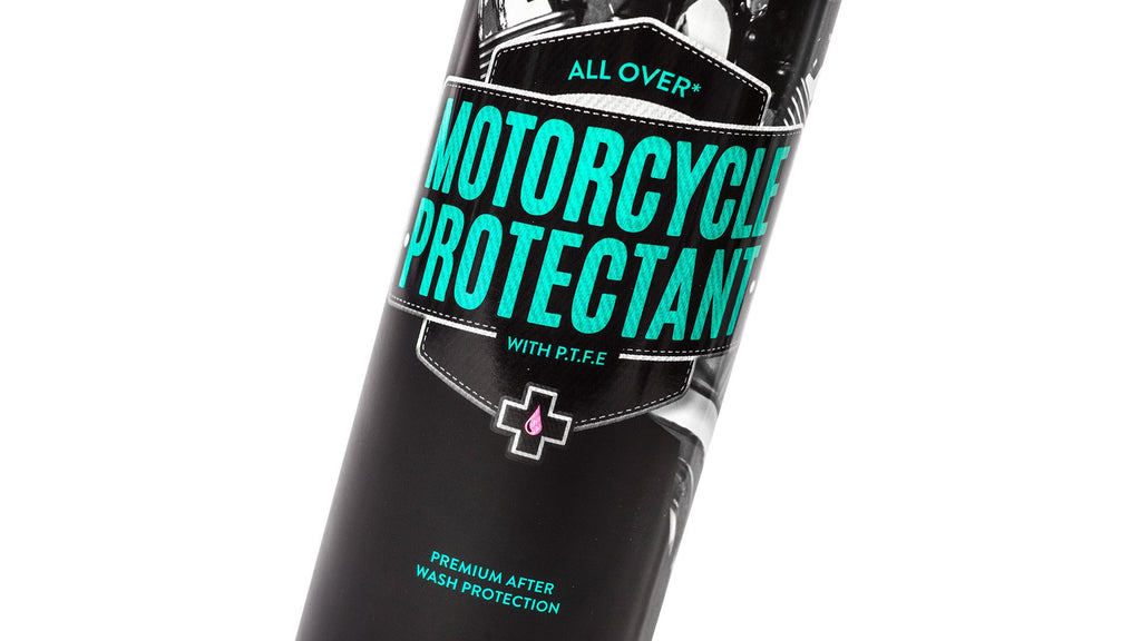 Muc-Off Motorcycle Protectant.