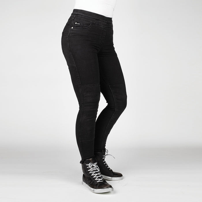 Bull-it Women's Fury Evo SP45 (A) Black Skinny Jeggings Regular
