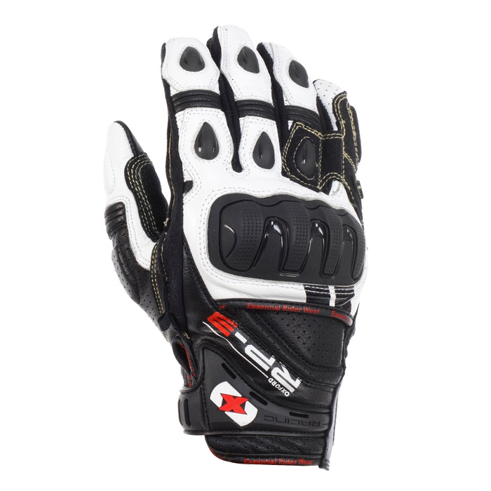 Oxford RP-3 Short Summer Gloves Black/White