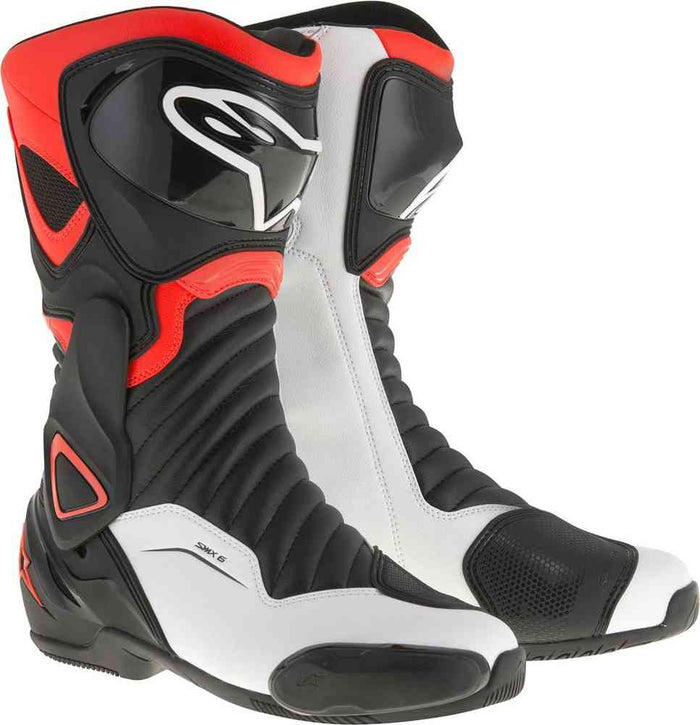 Alpinestars SMX 6 V2 Black Red Fluo White