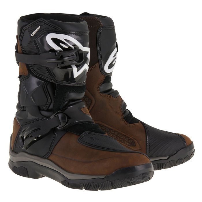 Alpinestars Belize Drystar Boots Oiled Leather Brown Black