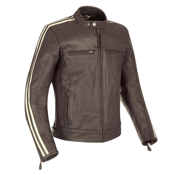 Oxford Bladon Leather Jacket *various colours